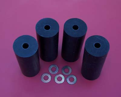 Mower Deck Rear Roller Set