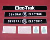 Seat housing decal set (E8 & E10)
