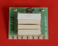 Card 3 - Field Resistor Assembly (E15)